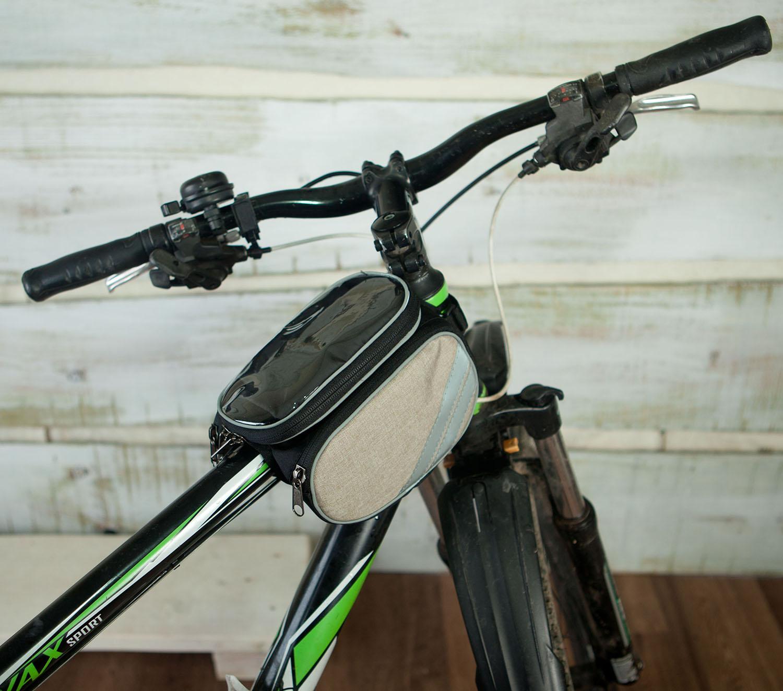 Велосумка для телефона